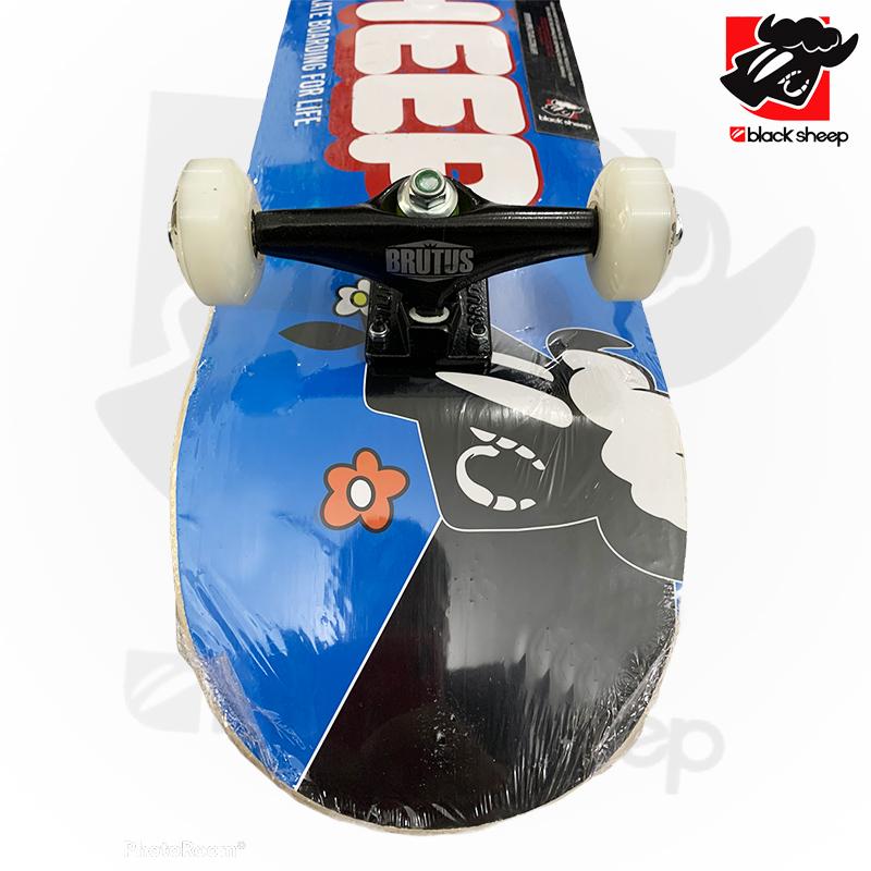 Skate Montado Black Sheep iniciante Modelo: Escrita