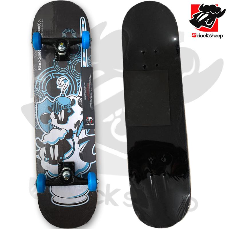 Skate Montado Black Sheep iniciante Modelo: Guerreiro