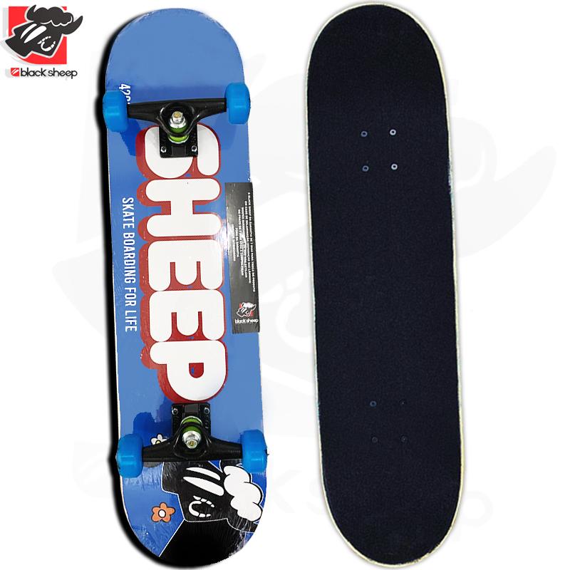 Skate Montado Black Sheep Iniciante Modelo: Chocolate LOLO
