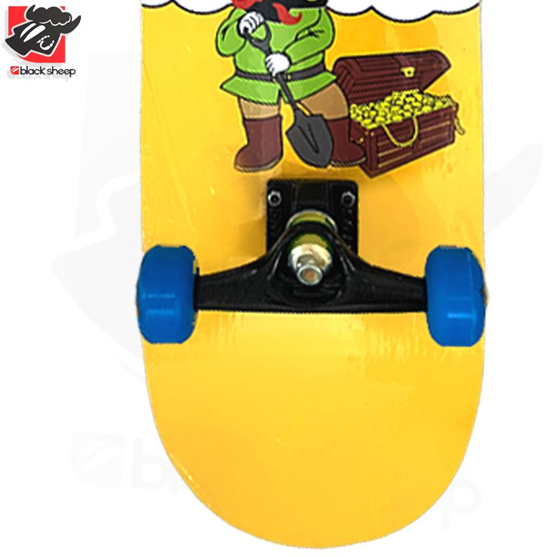 Skate Montado Black Sheep Iniciante Modelo: Pote de Ouro