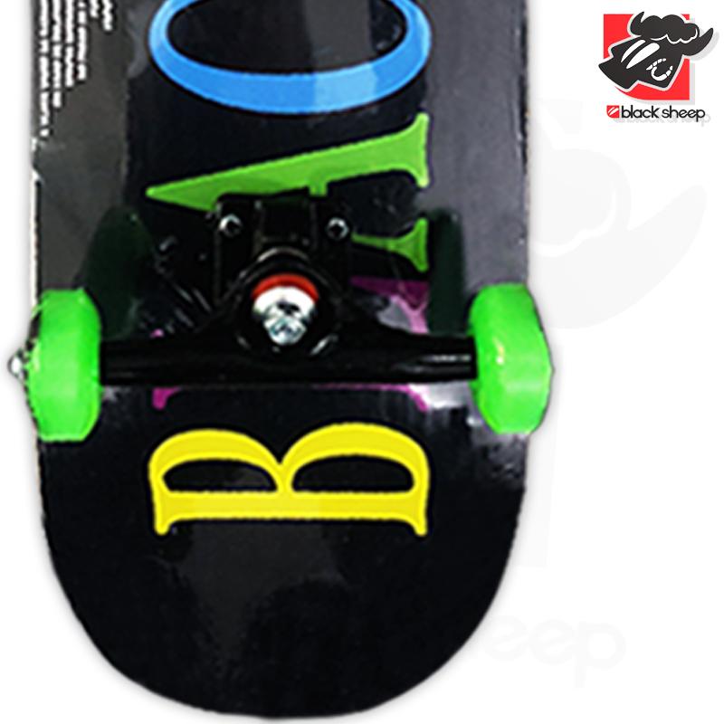 Skate Montado Black Sheep Iniciante Modelo: Preto Colors