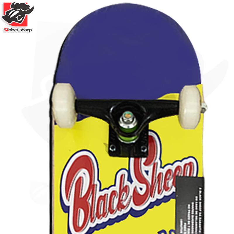Skate Montado Black Sheep Iniciante Modelo: TODDY