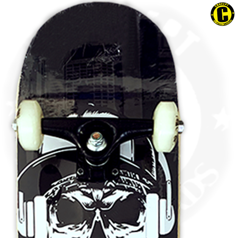 Skate Montado Concept iniciante Modelo: Caveira Rap