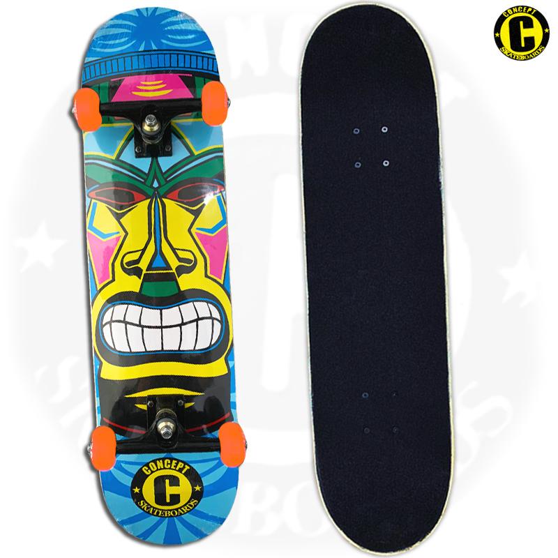 Skate Montado Concept iniciante Modelo: Hawaii