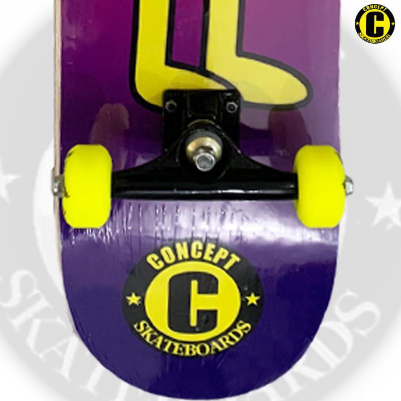 Skate Montado Concept iniciante Modelo: LINGUA