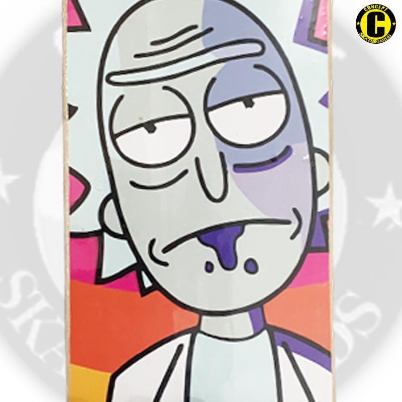 Skate Montado Concept iniciante Modelo: Rick e Morty