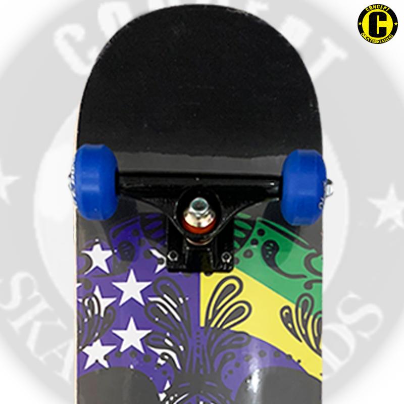 Skate Montado Concept iniciante Modelo: SKULL