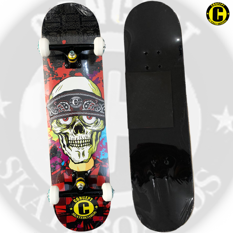 Skate Montado Concept iniciante Modelo: SUICIDAL