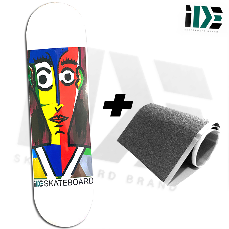 Skate Semiprofissional Montado IDE ART 8.0