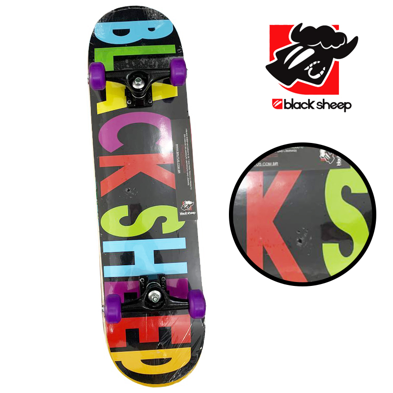 Skate Montado - INICIANTE BLACK SHEEP - Modelo 3