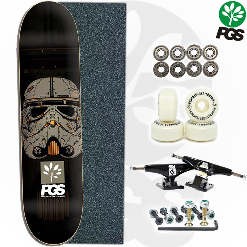 Skate Montado PGS iniciante Modelo: Star Trooper