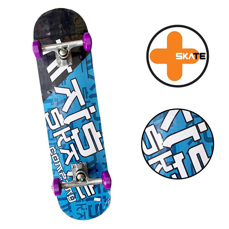 """Skate Montado - INICIANTE """" MAIS SKATE """" Modelo ARTE ORIENTAL"""