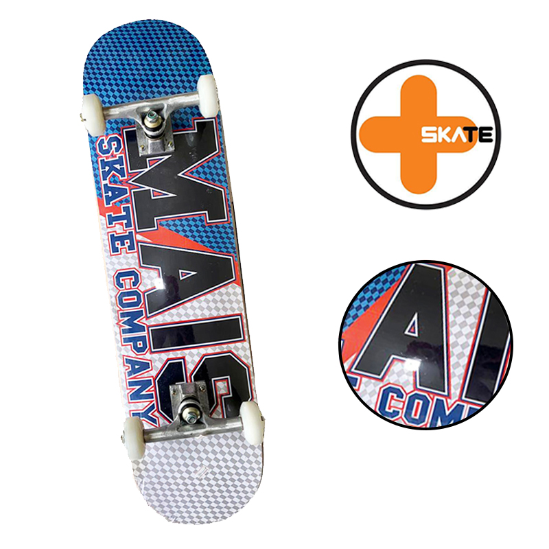 """Skate Montado - INICIANTE """" MAIS SKATE """" Modelo COMPANY"""