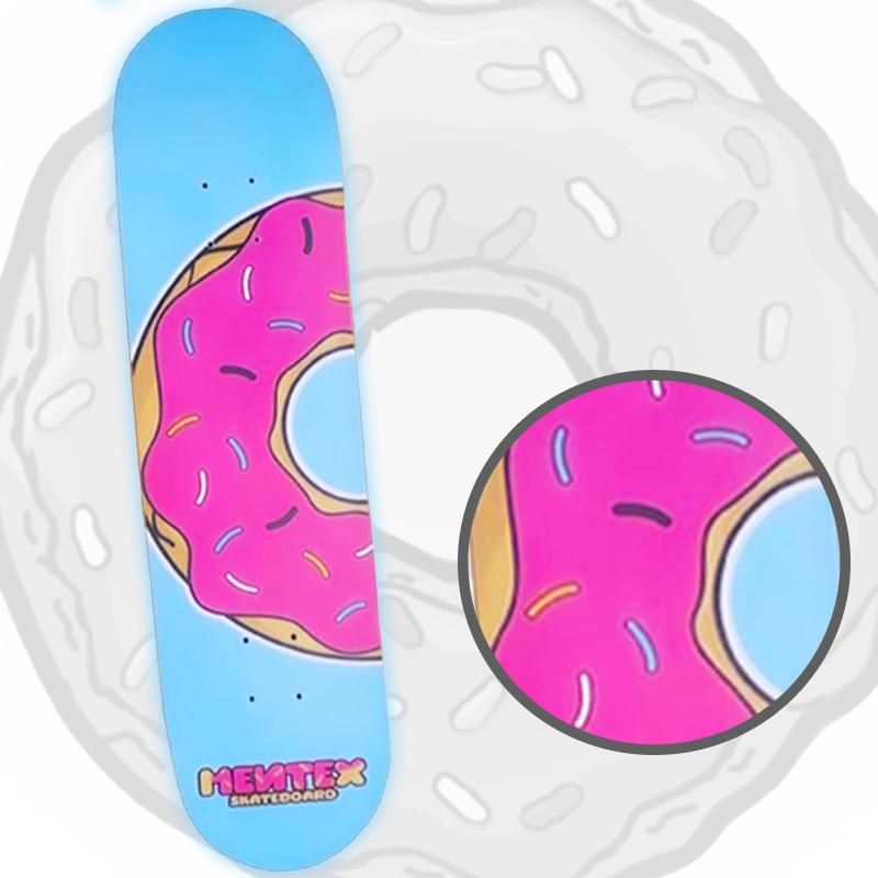 Skate Montado Mentex Modelo: Rosquinha