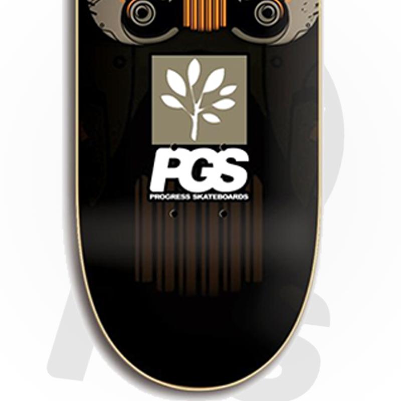 Skate Montado PGS Semi profissional Modelo: Star Trooper