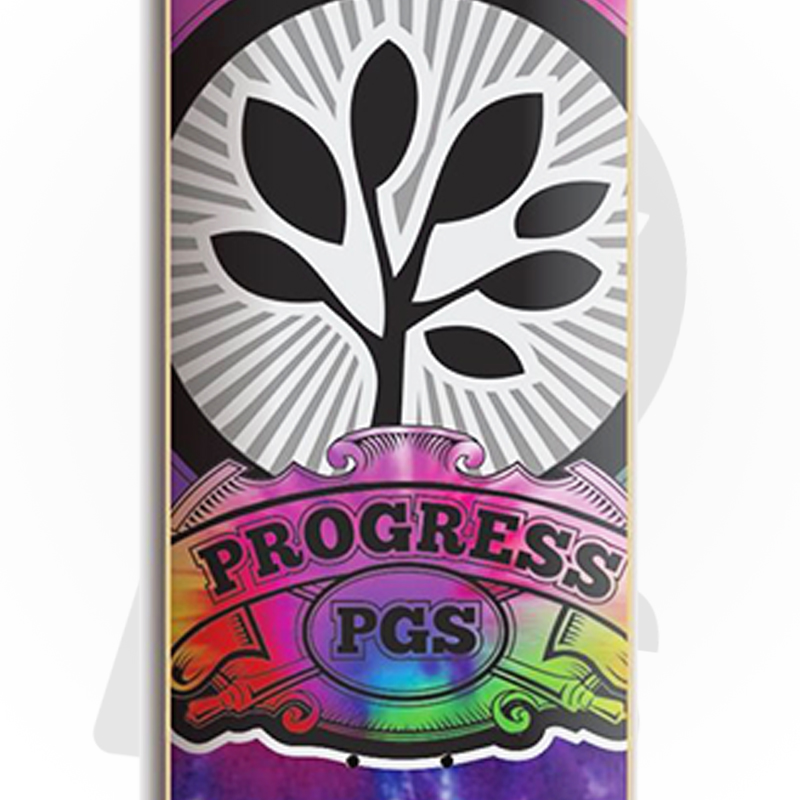Skate Montado PGS Semi profissional Modelo: Tie-Dye