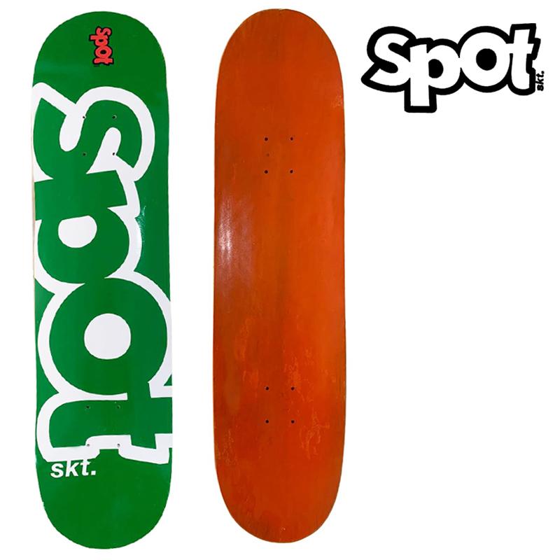Skate Montado SPOT Modelo: Colors verde