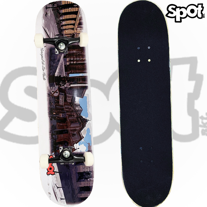 Skate Montado SPOT Modelo: Teatro Municipa