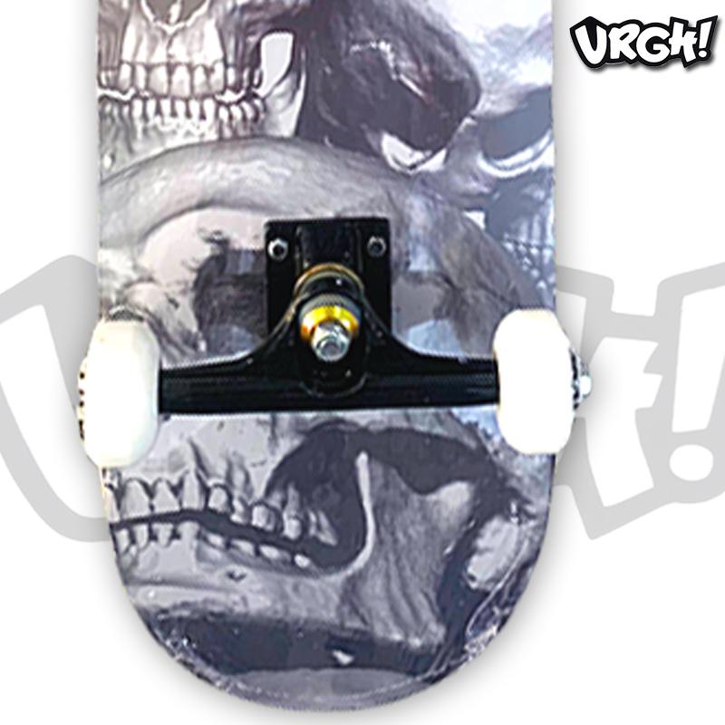 Skate Montado URGH iniciante Modelo: Skulls
