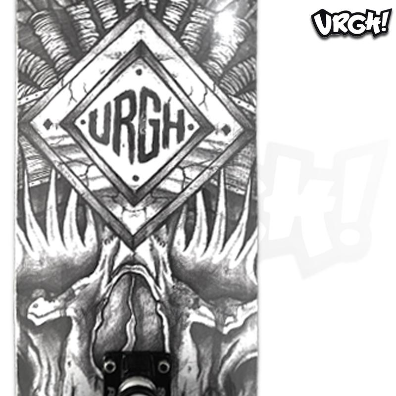 Skate Montado URGH iniciante Modelo: Totem