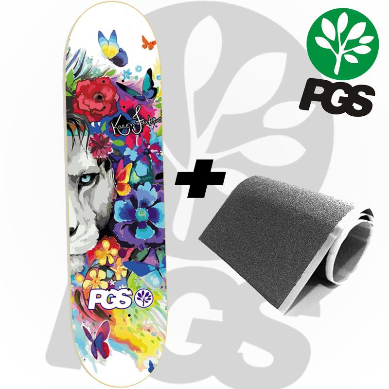 Skate Profissional PGS 8.0 Karen Feitosa Leão