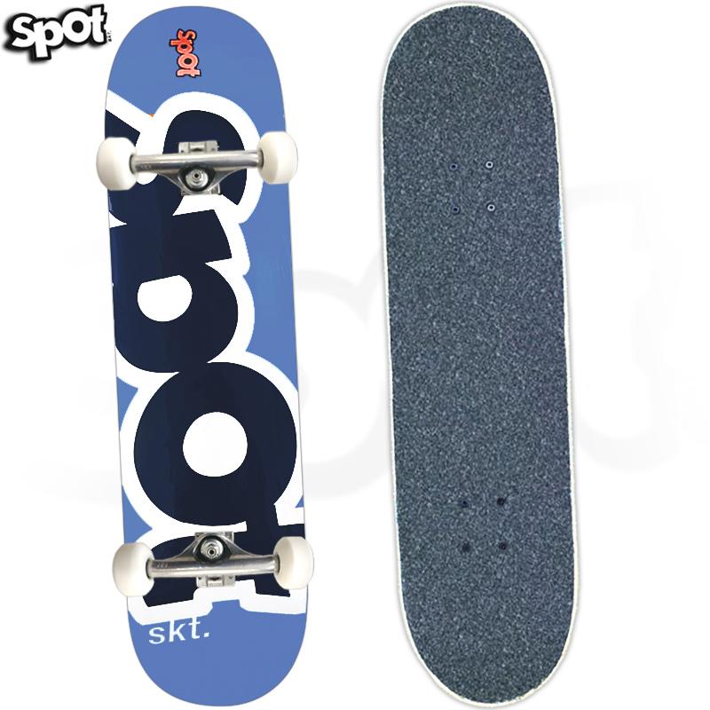 Skate Profissional Spot Colors Azul 8.0