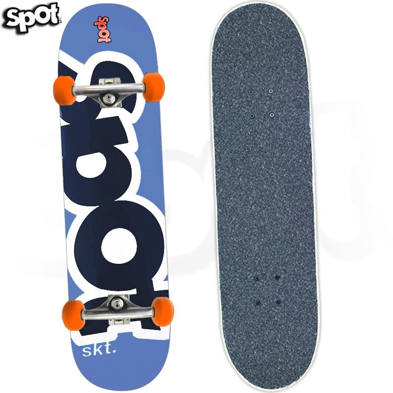 Skate Profissional Spot Colors Azul 8.0 2