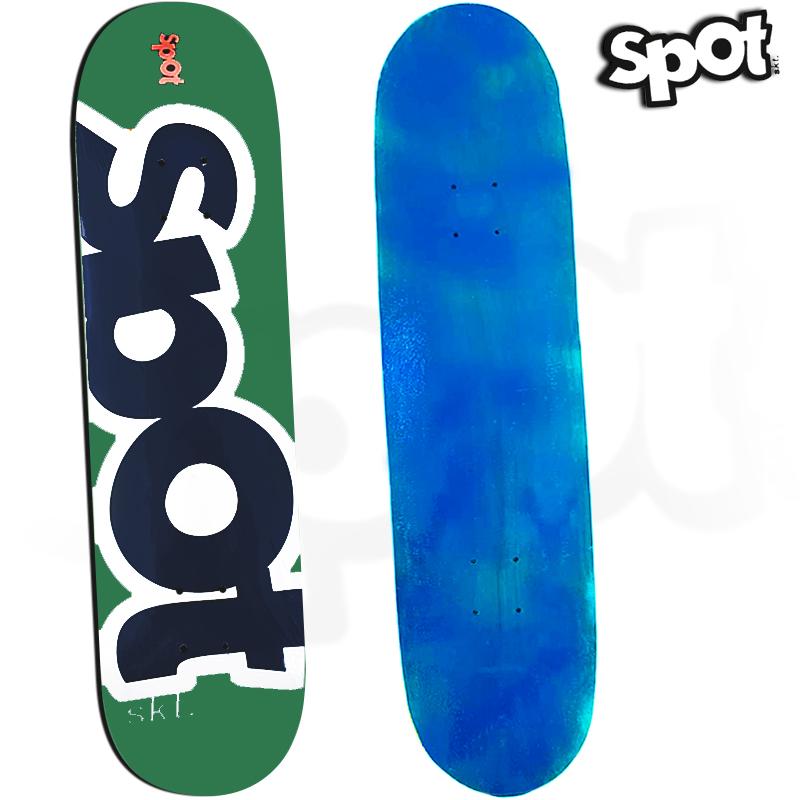 Skate Profissional Spot Colors Verde 8.0 2