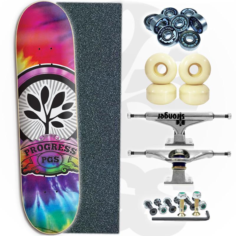 Skate Profissional Tie-Dye
