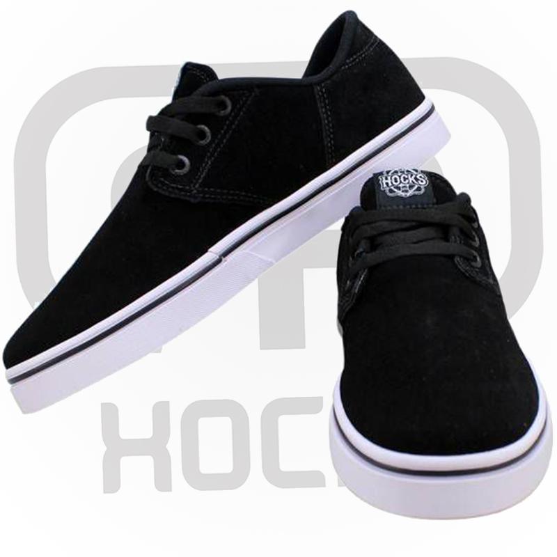 Tênis Hocks Del Mar Black/White