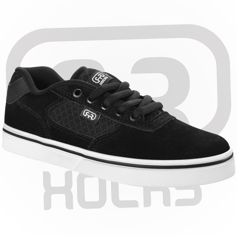 Tênis Hocks Flat Lite Black/White