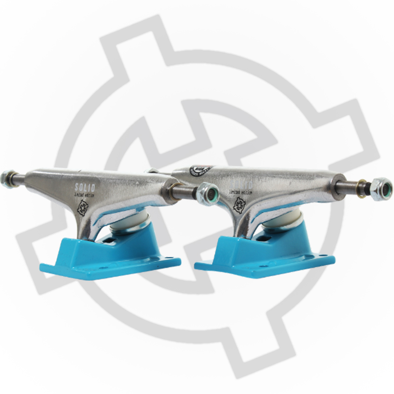 Truck Intruder 139mm Sólid Profissional - Azul/Prata