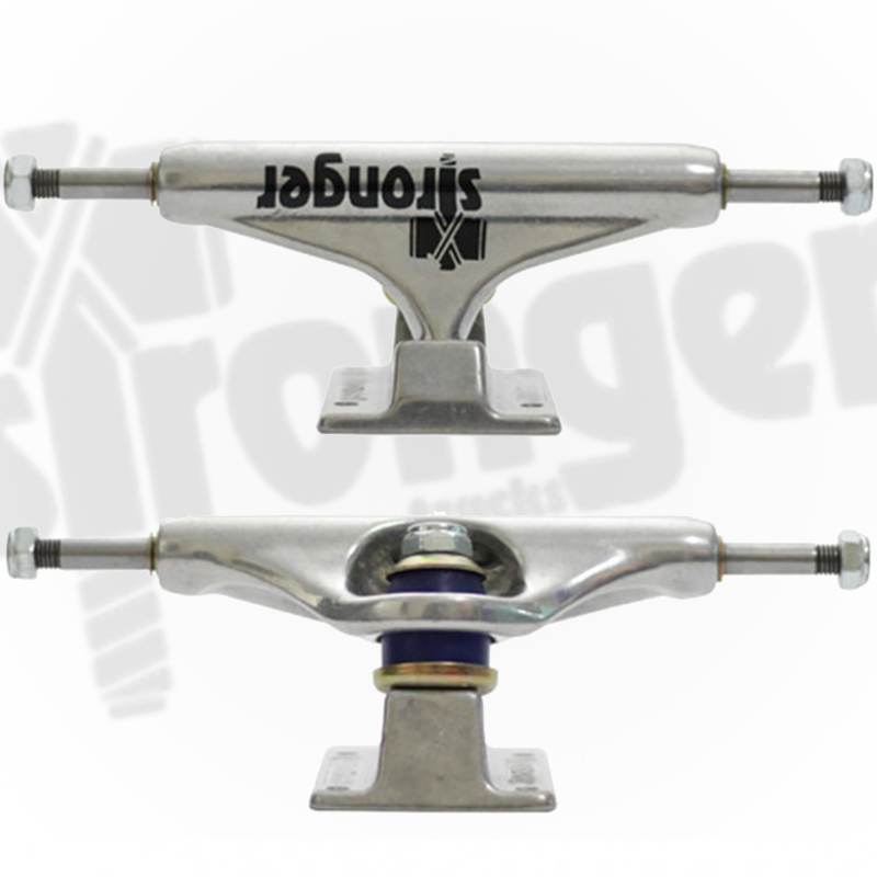 Truck Stronger 139mm Double Hollow Profissional - Polido