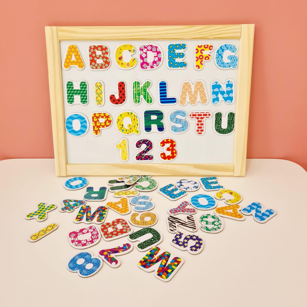 Coleção imantados -  Letras e Números