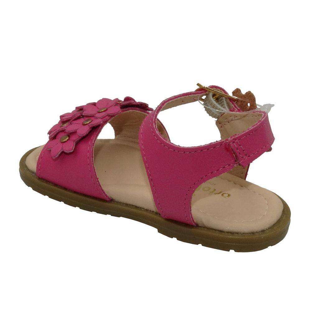 Sandália Infantil Ortopasso Angel Menina Pink
