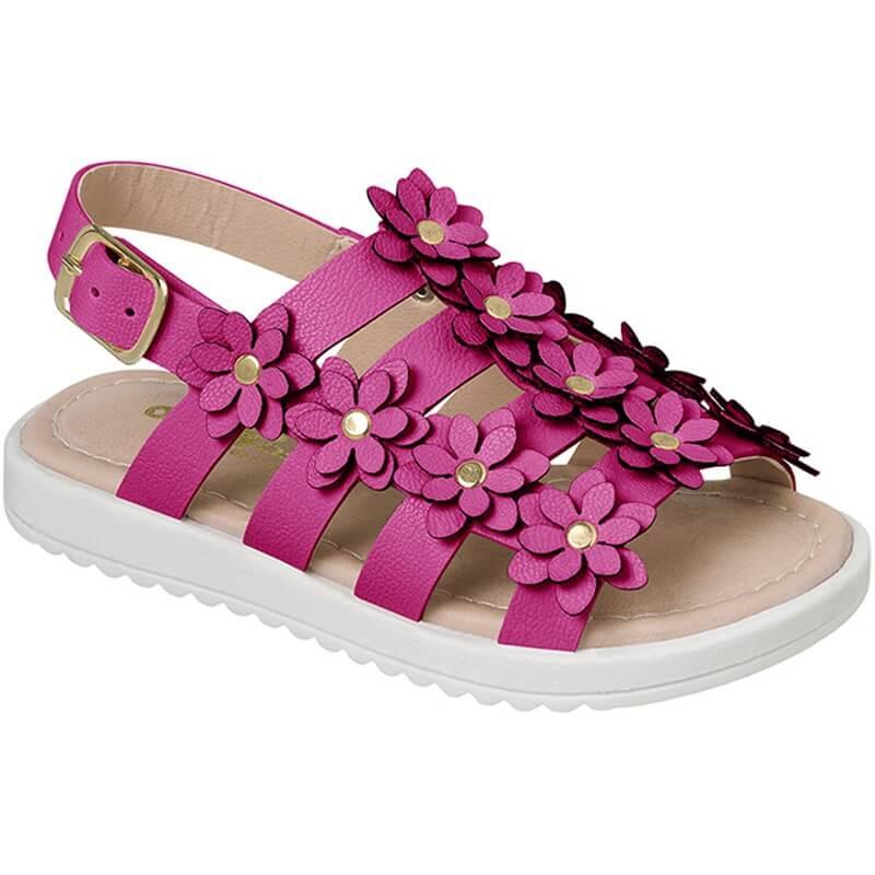 Sandália Infantil Ortopasso Cinderela Baby Pink