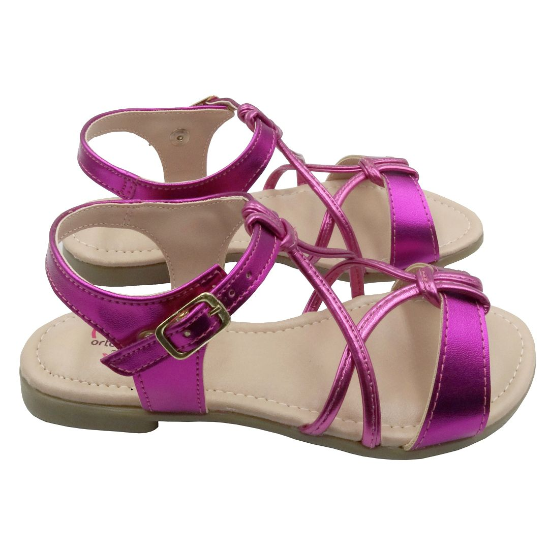 Sandália Infantil Ortopasso Summer Menina Pink