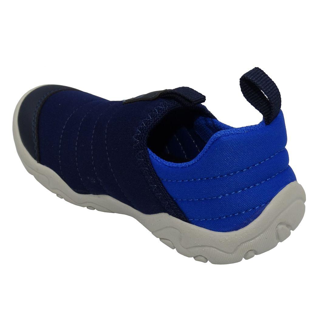 Tênis Infantil Ortopasso Fit Colors Menino Azul Marinho