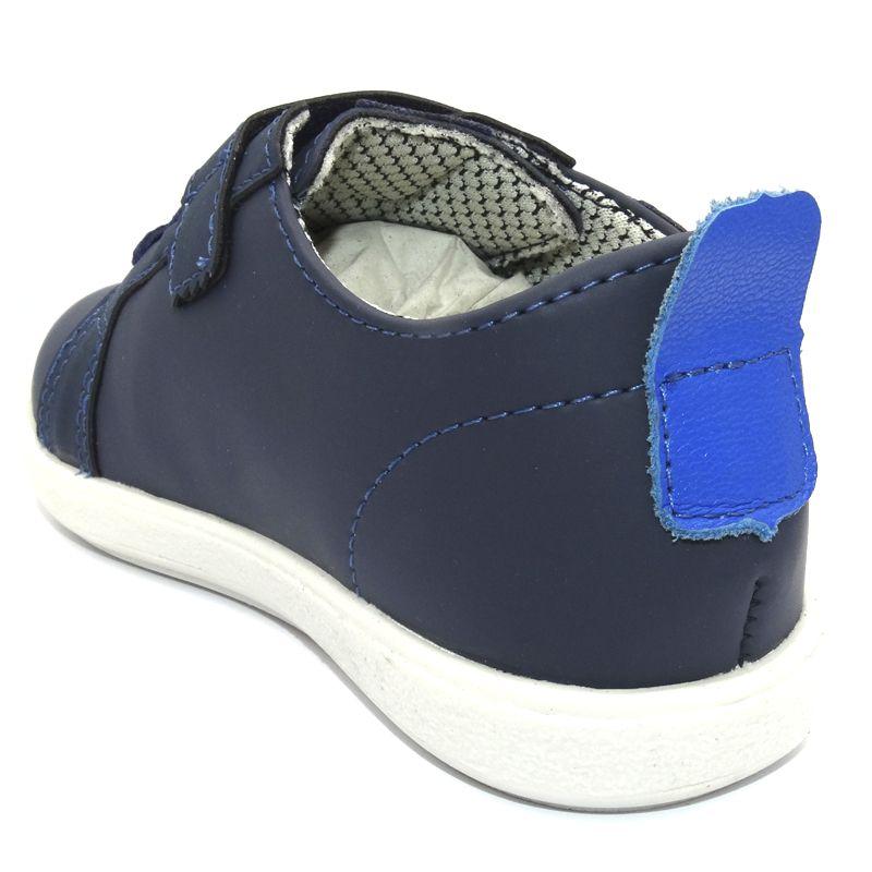 Tênis Infantil Ortopasso Minions Menino Azul Marinho