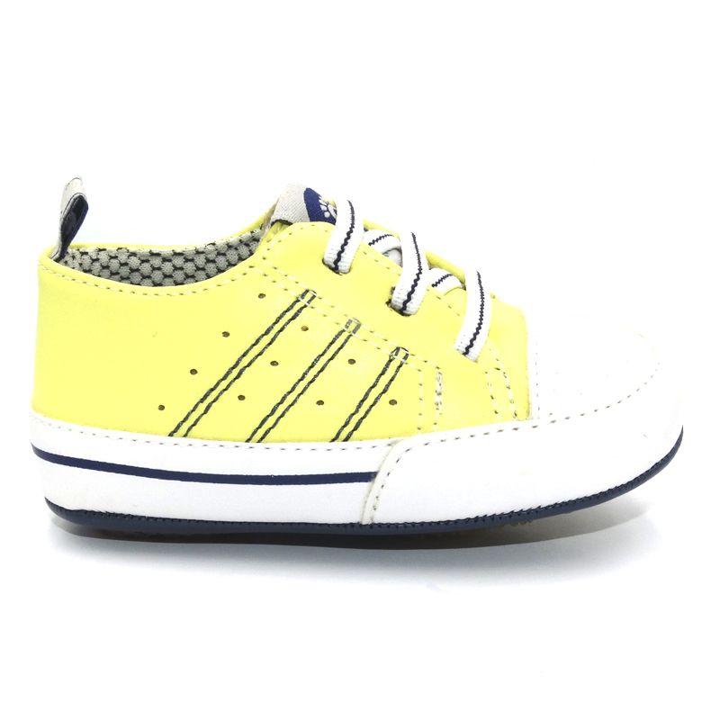 Tênis Infantil Ortopasso Prime Menino Amarelo