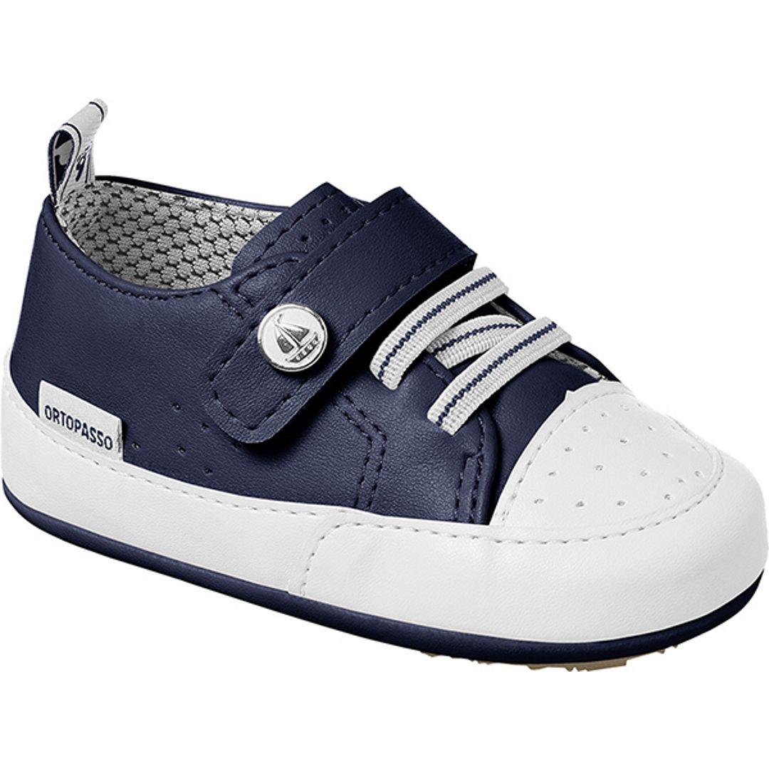 Tênis Infantil Ortopasso Prime Menino Azul Marinho