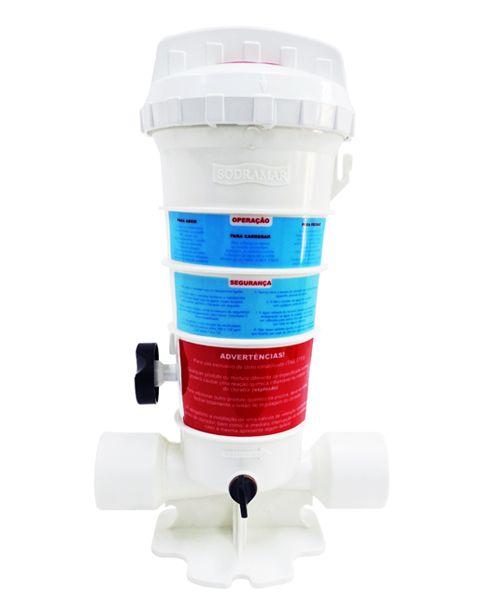 Dosador de Cloro Sodramar 2kg para Piscinas