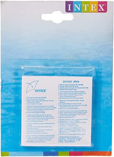 Adesivo de reparo para piscinas e bóias Intex 6 unidades