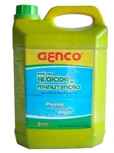 Algicida Genco Manutenção  Pool Trat 5 litros Litros para piscinas