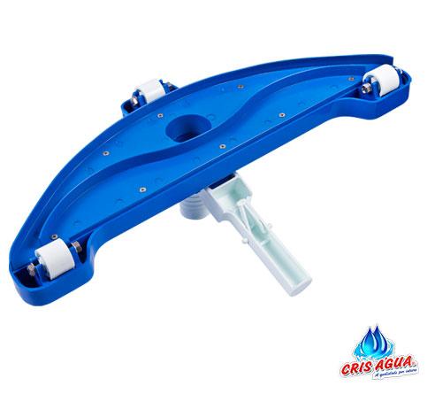 Aspirador para Piscinas Cris Agua Super com 3 Rodas
