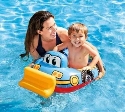 Baby Bote kiddie Carro Azul - Intex