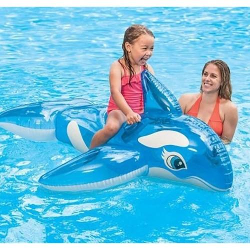 Bóia Baleia Azul Transparente 1,57 x 94 cm