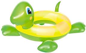 Boia Circular Tartaruga Infantil Verde - Belfix