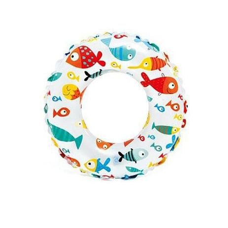 Bóia redonda estampada Peixinhos 61cm - Intex