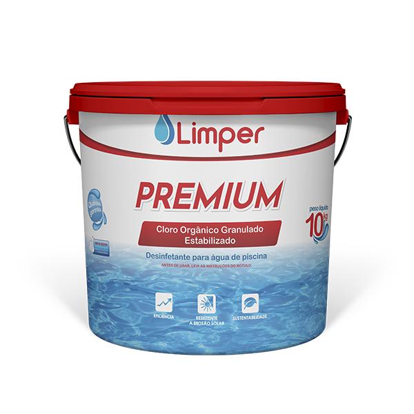 Cloro Limper Atcllor Dicloro Premium 60% balde 10kg